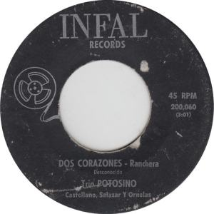Infal 200060 - Trio Potosino - Corazones