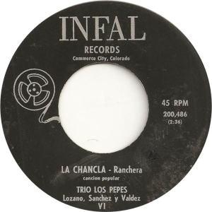 Infal 200486 - Trio Los Pepes - La Chancla