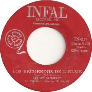 Infal 217 - Sanchez, Kathy - Los Recuerdos De L Elsie