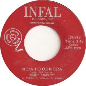 Infal 217 - Sanchez, Kathy - Mira Lo Que Era