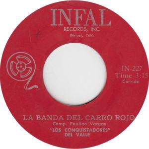 Infal 227 - Conquistadores - Band Del