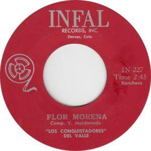 Infal 227 - Conquistadores - Flor Morena