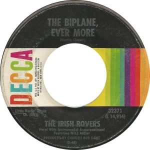 IRISH ROVERS - BIPLANE