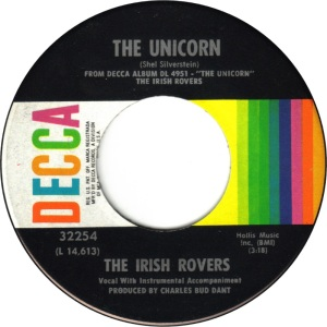 IRISH ROVERS UNICORN A