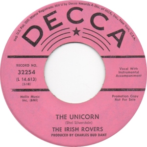 IRISH ROVERS UNICORN DJ