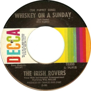 IRISH ROVERS WHISKEY