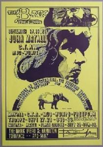 John Mayall & Bluesbreakers - CA - 11-27-68