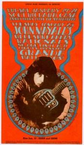 John Mayall & Bluesbreakers - Detroit - 1-19-68