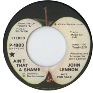 Lennon - ain't that shame DJ 2