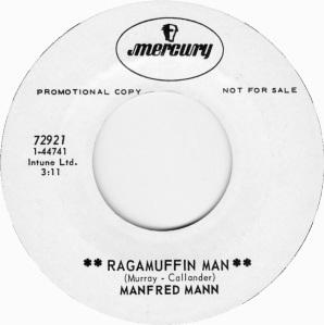 MANFRED MANN - RAGMUFFIN DJ
