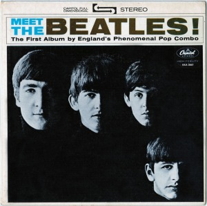 Meet the Beatles EP Front