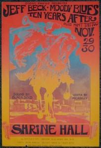 Moody Blues - CA - 11-29-68