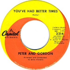 peter-and-gordon-youve-had-better-times-capitol