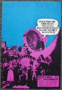 Pink Floyd - CA - 8-16-68