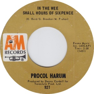 PROCOL HARUM - WEE SMALL HOURS