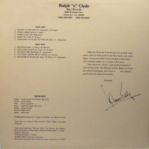 RALPH AND CLYDE LP C