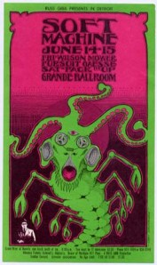 Soft Machine - Detroit - 6-17-68