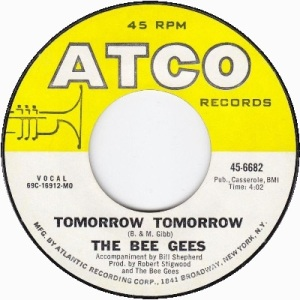 the-bee-gees-tomorrow-tomorrow-atco