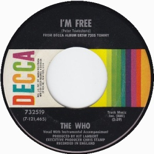 the-who-im-free-decca