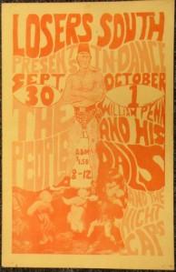 William Penn & His Pals - UK - 9-30-66