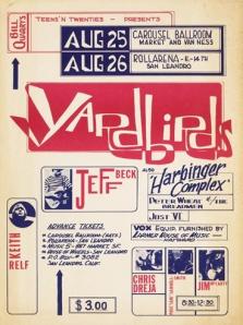 Yardbirds - CA - 8-28-68