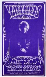 Yardbirds - Detroit - 5-3-68