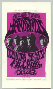Yardbirds - FLM - 10-23-66