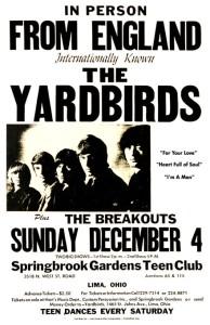 Yardbirds Poster 01