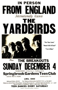 Yardbirds Poster 01