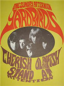 Yardbirds Poster 02