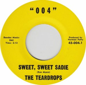 004 RECORDS - 004 - TEARDROPS B