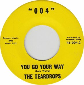 004 RECORDS - 004 - TEARDROPS C