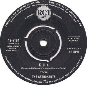 ASTRONAUTS - AUSTRALIA - 64-8194 B