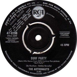 ASTRONAUTS - AUSTRALIA - 64-8298 A