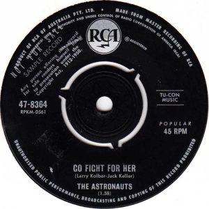 ASTRONAUTS - AUSTRALIA - 64-8364 A