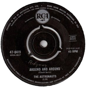 ASTRONAUTS - AUSTRALIA - 64-8419 A