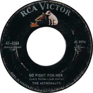 ASTRONAUTS - CANADA 64-8364 A