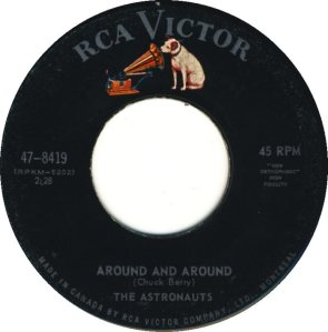 ASTRONAUTS - CANADA 64-8419 A