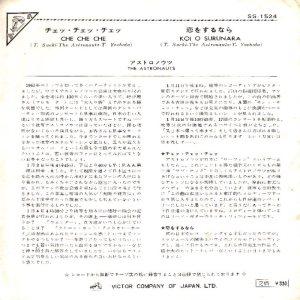 ASTRONAUTS - JAPAN - 65-1524 B