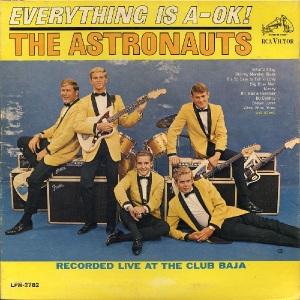 Astronauts LP RCA 2782 - A OK - 1964
