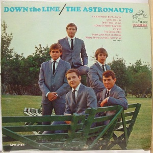 Astronauts LP RCA 3454 - Down the Line - 1966