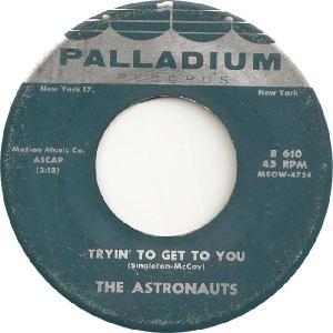 Astronauts - Pal 610 A- 5-61