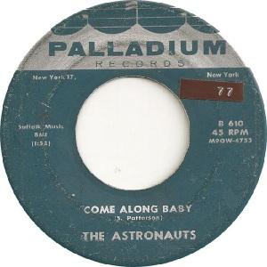 Astronauts - Pal 610 B - 5-61