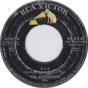 Astronauts - RCA 8194 - B - 6-63