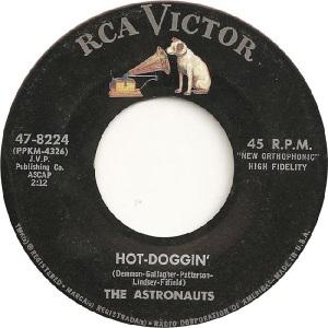 Astronauts - RCA 8224 - A - 8-63