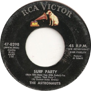 Astronauts - RCA 8298 - B - 2-64