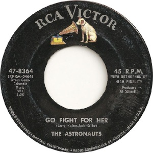 Astronauts - RCA 8364- A - 5-64