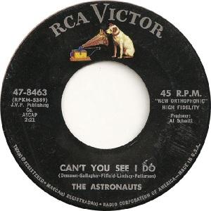 Astronauts - RCA 8463 - B - 11-64