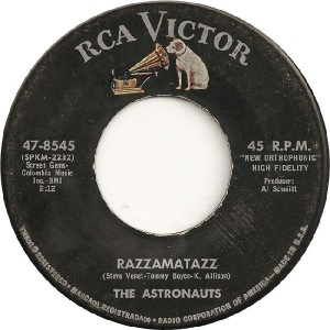 Astronauts - RCA 8545 - B - 4-65