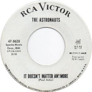Astronauts - RCA 8628 - B - 7-65